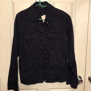 Express navy jacket